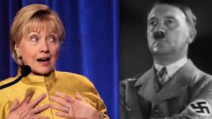 Hilary Meme - hillary clinton adolf hitler meme liked by nhl goalie from