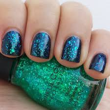 blue opal nails revlon brilliant strength beguile and sinful