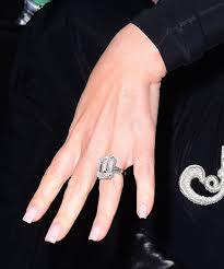 the best celebrity engagement rings of all time vogue