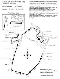 Map Of Warren County Nj O U0027burg 5k Run Walk At The Sterling Hill Mining Museum