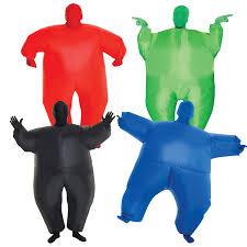 m m halloween costume kids megamorph inflatable morphsuit blow up halloween costume sumo