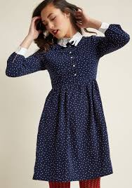 miss patina i m only prancing sleeve dress modcloth