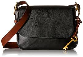 fossil small crossbody black one size handbags