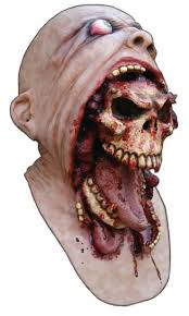 Zombie Mask Demon Parasite Zombie Mask Latex Accoutrements Mask Skull For