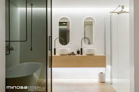 bathroom design 2013 minosa clean simple lines slick bathroom design by minosa