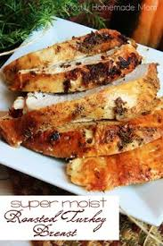 garlic herb butter roasted turkey breast recipe roast turkey