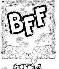 friend coloring pages fablesfromthefriends