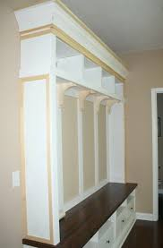 Mudroom Storage Bench Diy Mudroom Storage Bench Home Design Ideas
