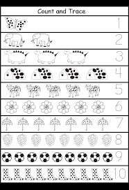 count u0026 trace home schooling numeracy pinterest count and