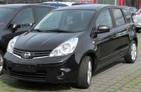 nissan note 2009 file nissan note facelift front 20100405 jpg wikimedia commons