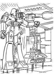 megatron coloring pages megatron shooting autobots with bazooka in transformers coloring