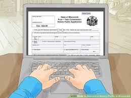 how to become a notary public in wisconsin 10 steps