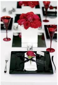 Valentine Banquet Decorations Ideas by Best 25 Red And Black Table Decorations Ideas On Pinterest