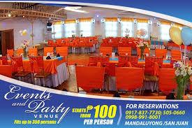 Affordable Banquet Halls Residential Room Rentals U0026 Events Party Venue Metro Manila