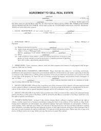 10 best images of buyer seller agreement form residential