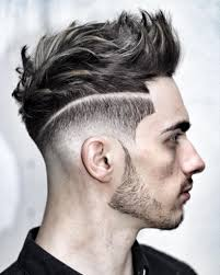 best hair side shaved with bangs for men haircut shaved sides long