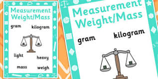 practical problems for mass weight new 2014 page 1