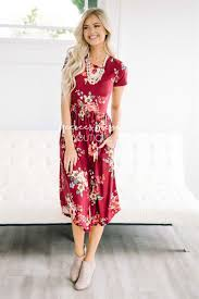 best place to buy bridesmaid dresses burgundy floral pocket dress best place to buy modest dress