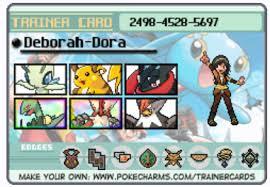 Pokemon Trainer Card Designer My Pokemon Trainer Card Version 2 By Yugioh5dsduelist On Deviantart