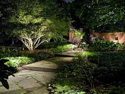 Exterior Home Lighting Design by How To Illuminate Your Yard With Landscape Lighting Intended For