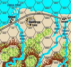 Guadalcanal Map Camelot Games Guadalcanal Game Map New Artwork