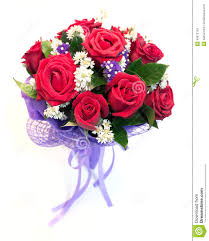 beautiful bouquet of flowers beautiful bouquet of bright flowers isolated on white backg