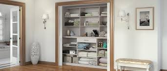 linen closet linen cabinets hall closet organizers by california closets