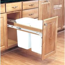 kitchen trash can storage cabinet kitchen trash cans under cabinet
