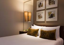 idyllic relaxing colors for bedrooms with grey paint wall and