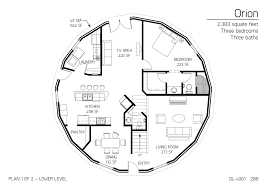 15 orion monolithic dome home plans floor plan dl 4604