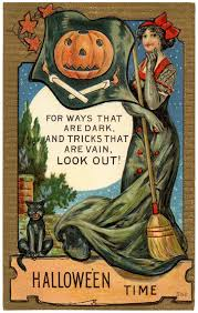 vintage halloween illustration vintage halloween postcard image the graphics fairy