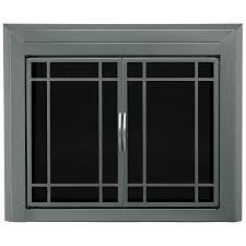 Cabinet Style Shop Pleasant Hearth Edinburg Gunmetal Medium Cabinet Style