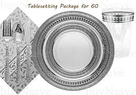 silver wedding plates awesome buynsave symphony clear with silver wedding party