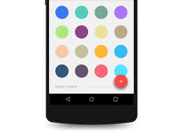 android color picker material colorpicker uplabs