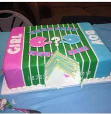 gender reveal football cake gender reveal football invitations