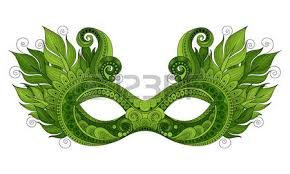 mardi gras mask with feathers vector ornate mardi gras carnival mask with decorative feathers