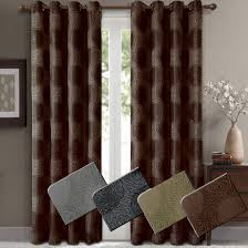 Drapery Panels With Grommets Lexington Circle Swirl Jacquard Curtains Grommet Top Panels Set Of 2