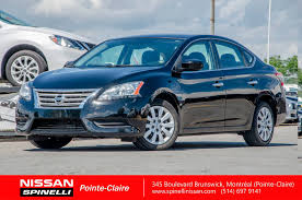 nissan canada extended warranty used 2013 nissan sentra sv for sale in montreal p7212 spinelli