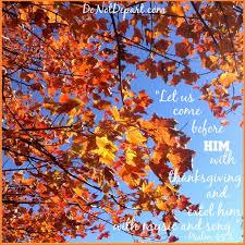 thanksgiving 2013 do not depart