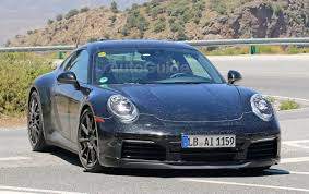 latest porsche 2019 porsche 911 coupe reveals more in latest spy photos