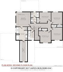 Aspen Heights Floor Plan by 2363 Aspen Builders