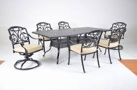 veranda classics st thomas aluminum dining set santa barbara