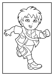 6 fantastic dora the explorer coloring pages ngbasic com