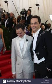 jim parsons new york new york usa 05th may 2014 todd spiewak and actor jim parsons r