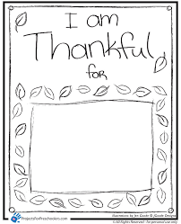 i am thankful coloring page thanksgiving