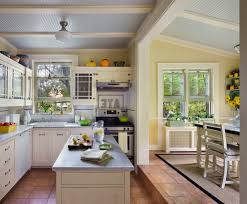 Traditional Wainscoting New York White Tile Backsplash Kitchen Traditional With Oven