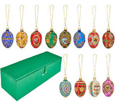 joan rivers 2015 set 12 russian inspired mini egg ornaments page