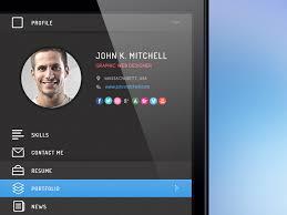 Resume Designer App Resume App Ui By Pasquale Vitiello Dribbble