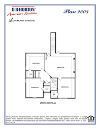 dr horton floor plan 2008 cardinal valor series at highlands of westridge mckinney