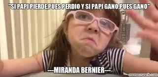 Miranda Meme - bernier